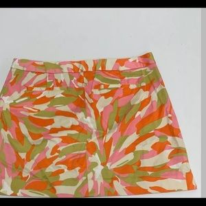 J.Crew Mod print skirt